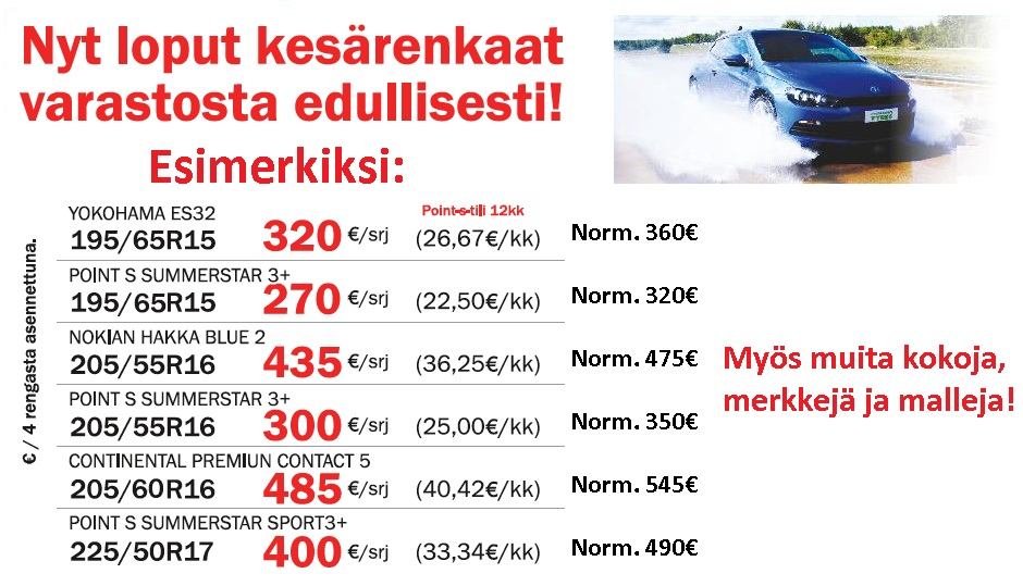 Teräs Rengas Oulu